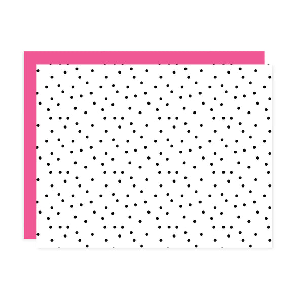 Polka Dots - Flat Notecard Set