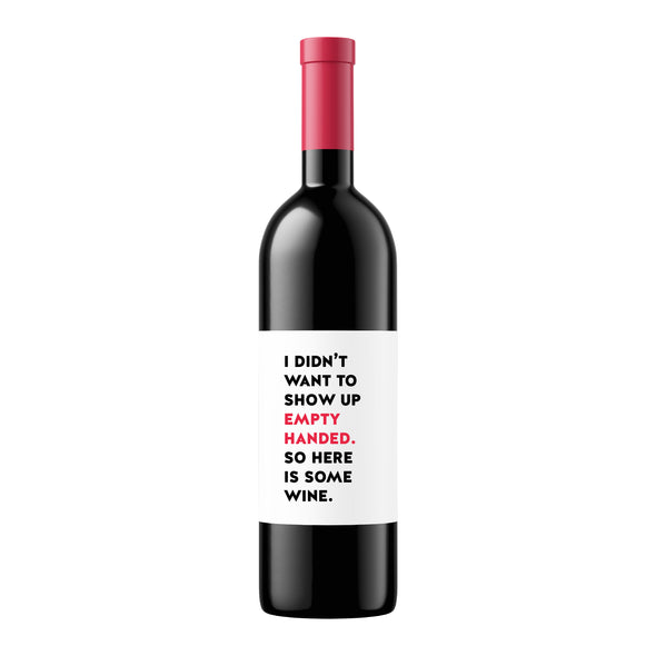 Empty Handed Christmas | Wine Label