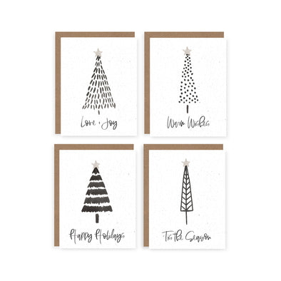 Winter Trees Set | Card Boxed Set