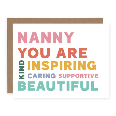 Nanny You Are | Card