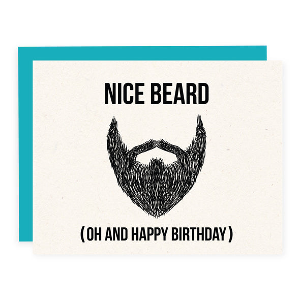 Nice Beard Birthday | Card