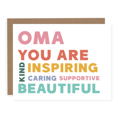 Oma You Are | Card