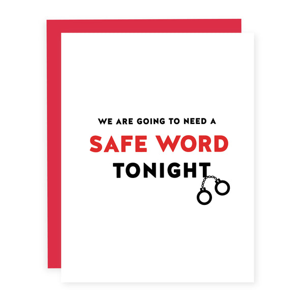Safe Word | Card