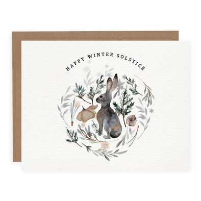 Winter Solstice Bunny | Card or Boxed Set