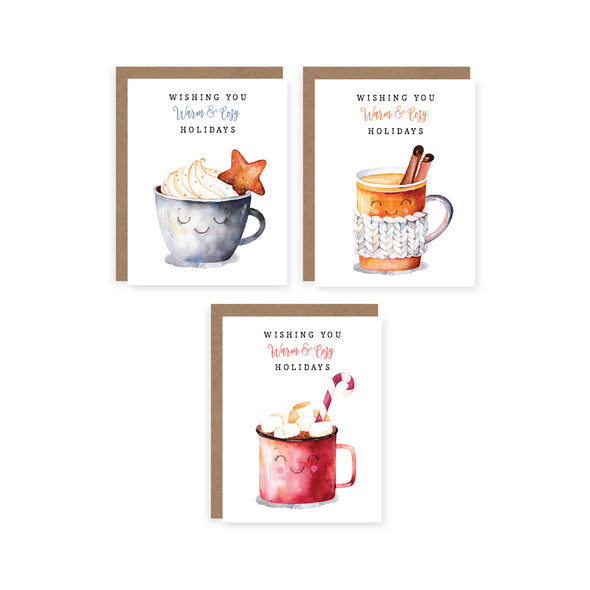 Warm and Cozy Christmas Set | Card Boxed Set