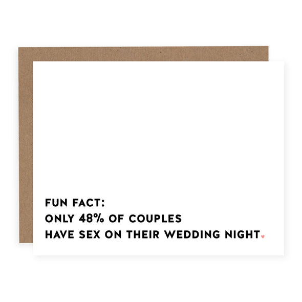 Wedding Fun Fact | Card