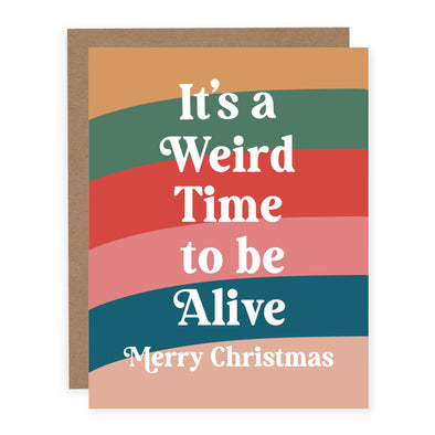 It's a Weird Time to Be Alive | Card or Boxed Set
