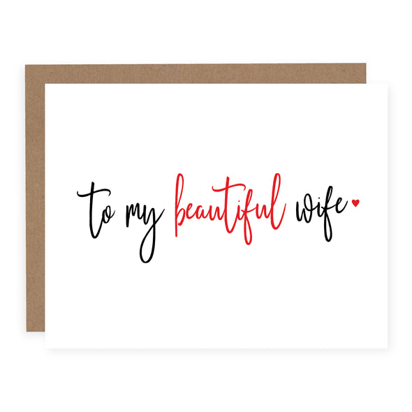 Beautiful Wife | Card