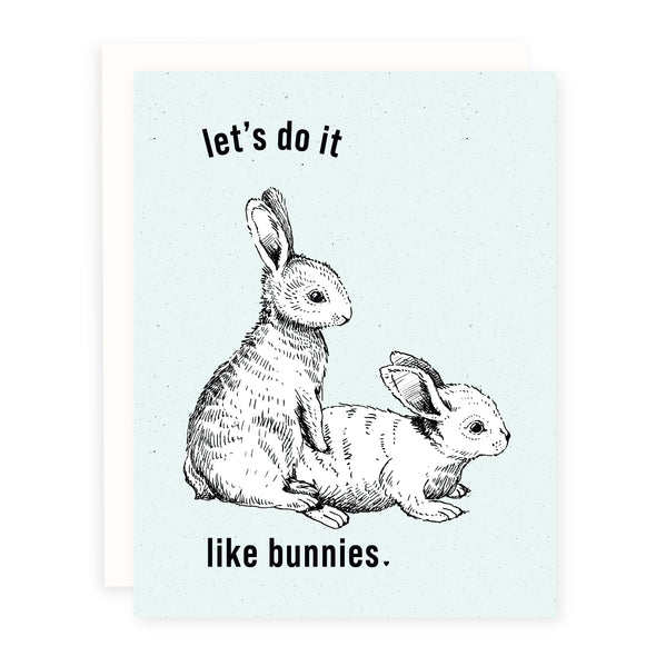 Do it Like Bunnies | Card