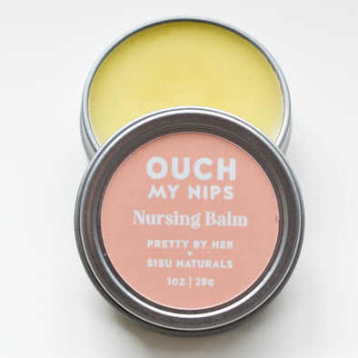 Ouch My Nips Nursing Balm | Pretty by Her + Sisu Naturals