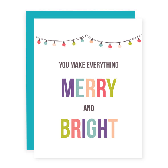 You Make Everything Merry and Bright | Card or Boxed Set