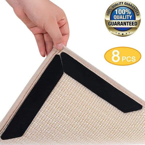8Pc Anti Slip Rug Grippers