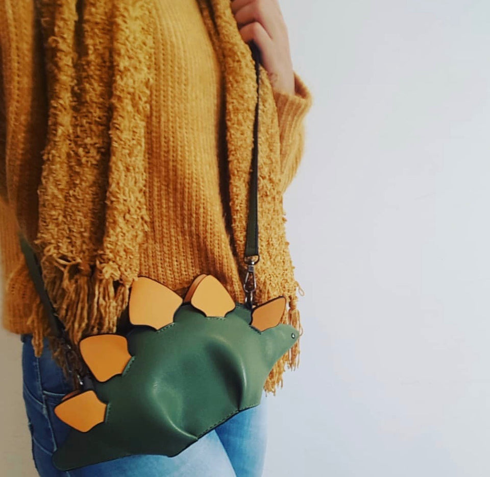 Dinosaur Cross Body Bag
