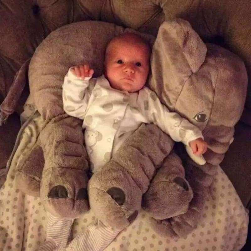 Adorable Elephant Toy Pillow - Baby
