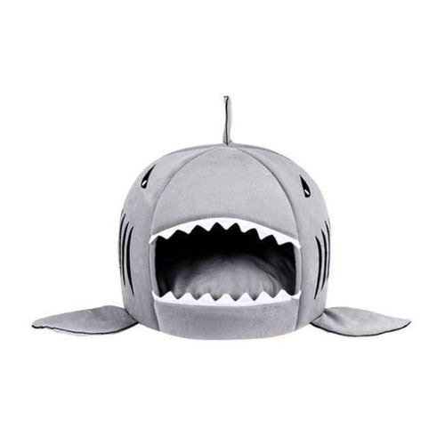 Best Selling Shark Pet Bed - Gray - Dog