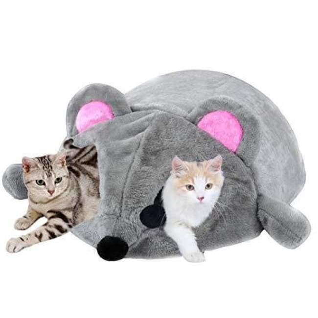 Cat Cave Mouse Bed - Cat