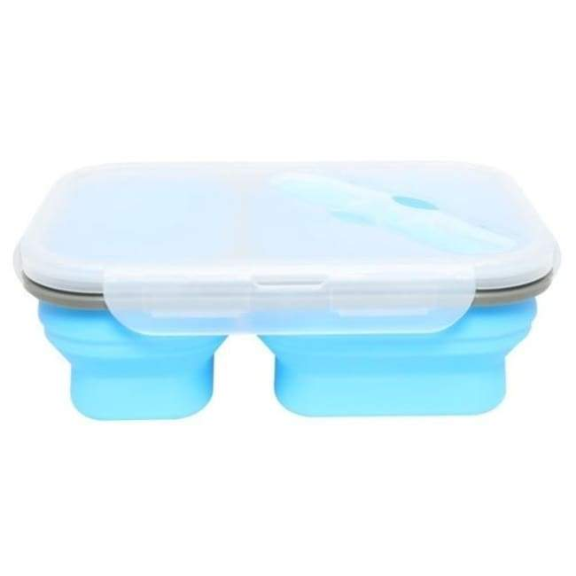 Collapsible Food Container - Blue - Kitchen