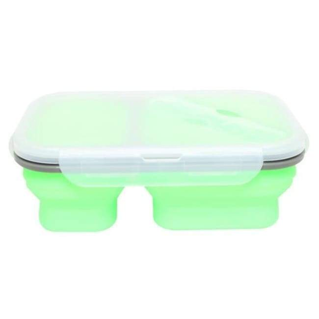 Collapsible Food Container - Green - Kitchen