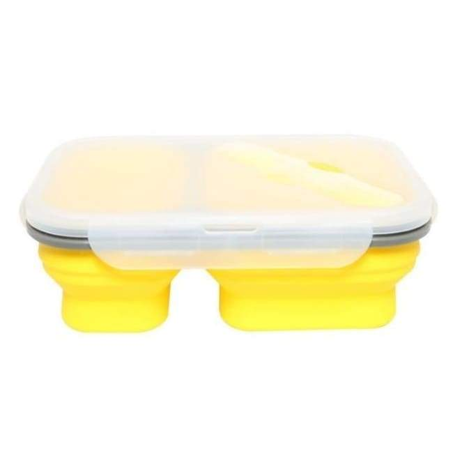 Collapsible Food Container - Yellow - Kitchen