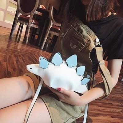 Dinosaur Bag - White