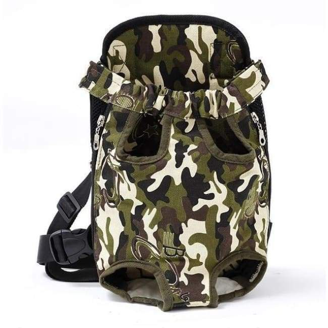 Dog Carrier Backpack - Camouflage / S - Dog