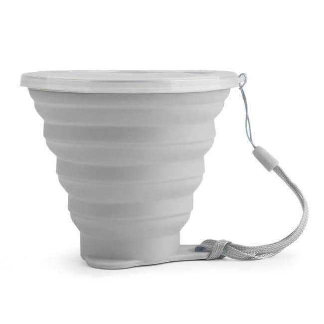 Foldable Snack Cup - Gray - Kitchen