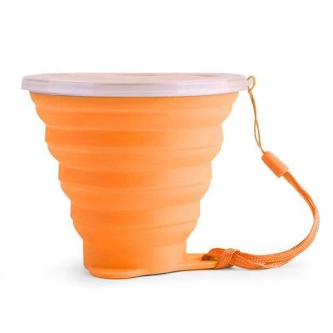 Foldable Snack Cup - Orange - Kitchen