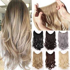 Halo Invisible Hair Extension - Beauty