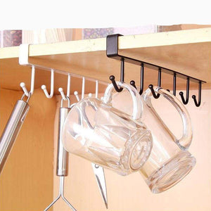 Hanging Hook Rack For Kitchen Storage & Organizing - Organization