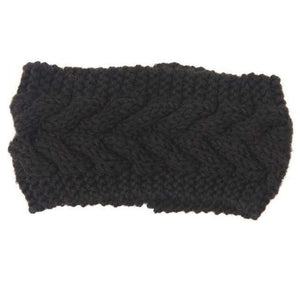Knitted Winter Warming Headband - 1 - Hair Accessories