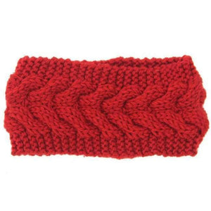 Knitted Winter Warming Headband - 10 - Hair Accessories