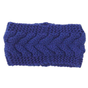Knitted Winter Warming Headband - 15 - Hair Accessories