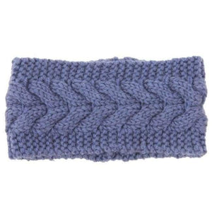 Knitted Winter Warming Headband - 16 - Hair Accessories