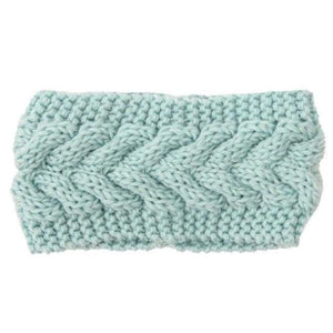 Knitted Winter Warming Headband - 17 - Hair Accessories