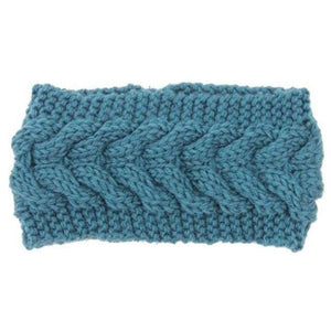 Knitted Winter Warming Headband - 18 - Hair Accessories
