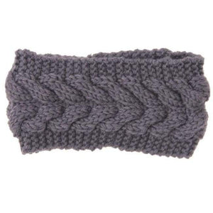 Knitted Winter Warming Headband - 2 - Hair Accessories