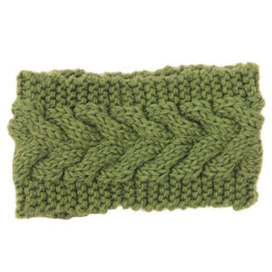 Knitted Winter Warming Headband - 21 - Hair Accessories