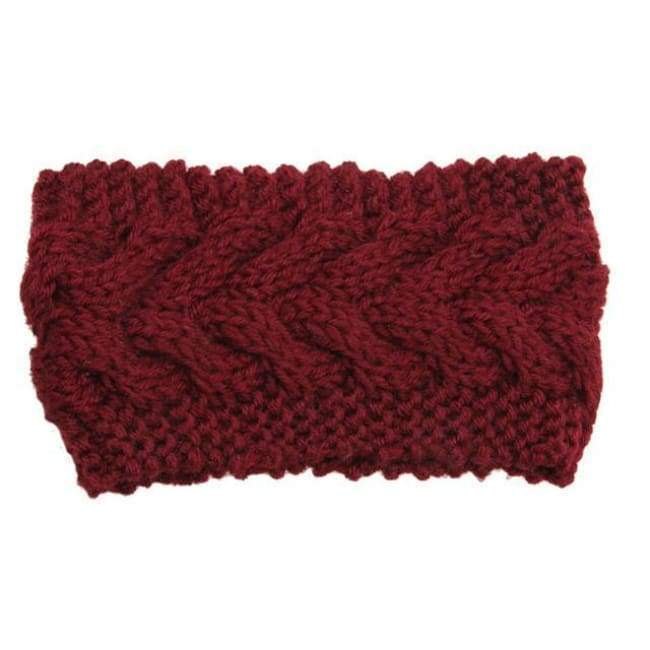 Knitted Winter Warming Headband - 24 - Hair Accessories