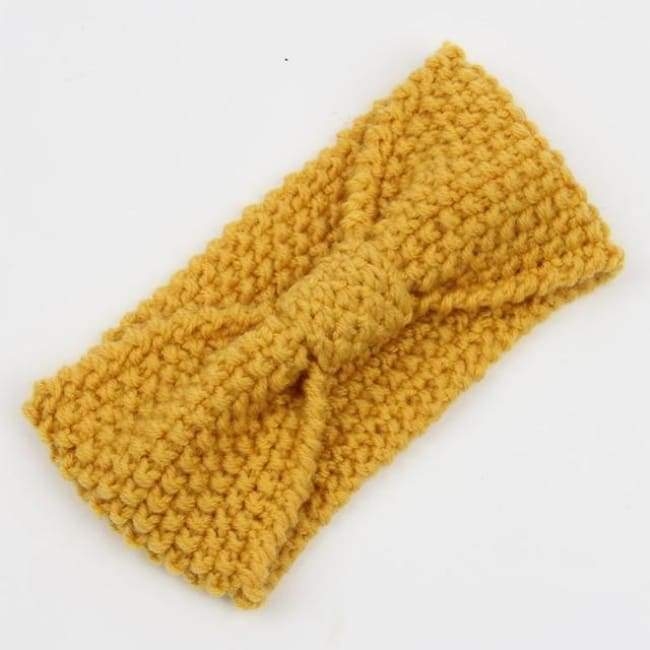 Knitted Winter Warming Headband - 25 - Hair Accessories