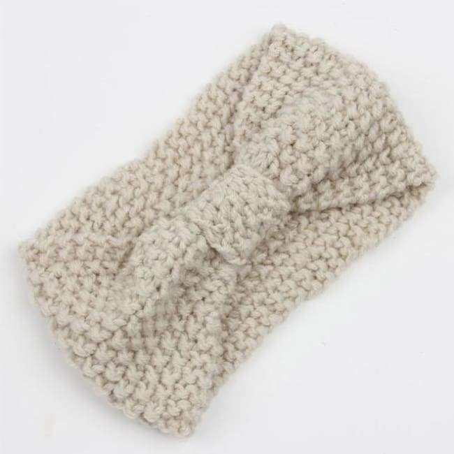 Knitted Winter Warming Headband - 26 - Hair Accessories