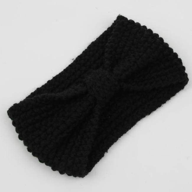 Knitted Winter Warming Headband - 27 - Hair Accessories