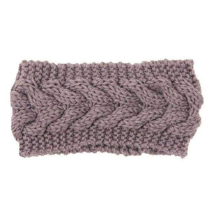 Knitted Winter Warming Headband - 3 - Hair Accessories