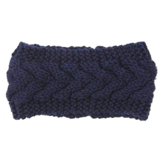 Knitted Winter Warming Headband - 4 - Hair Accessories