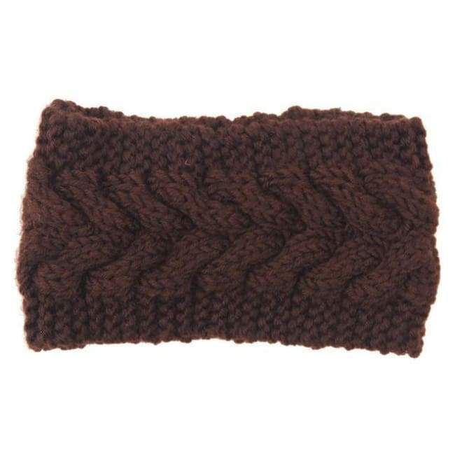 Knitted Winter Warming Headband - 5 - Hair Accessories