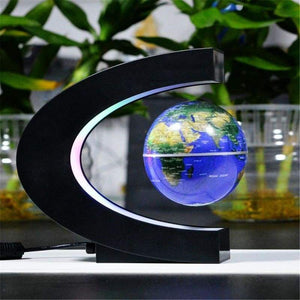 Led Floating Globe Lamp - Blue - Lamp