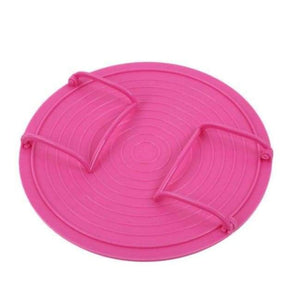 Microwave Plate Rack Cover - Pink - Kitchen