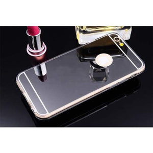 Mirrored Iphone Case For All Models - Black / For Iphone 4 4S