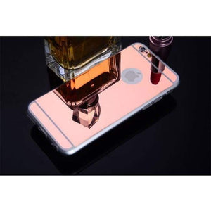 Mirrored Iphone Case For All Models - Rose Gold / For Iphone 4 4S