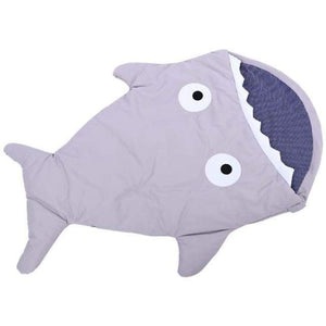 Mr. Shark Baby Sleeping Bag - Grey