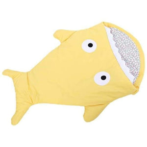Mr. Shark Baby Sleeping Bag - Yellow